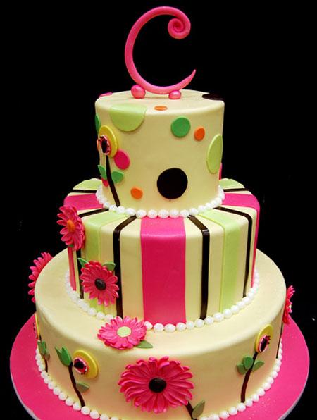 کیک های تولد 2016,جدیدترین کیک تولد