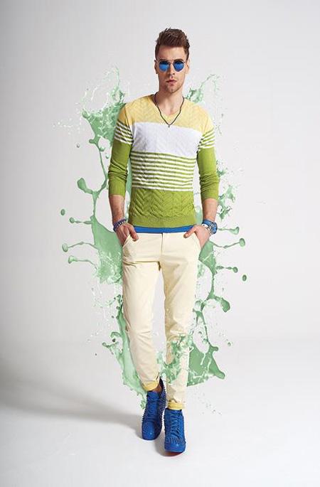لباس بهاری مردانه, لباس اسپرت مردانه